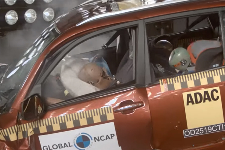 Chery Tiggo 3 NCAP prueba de seguridad