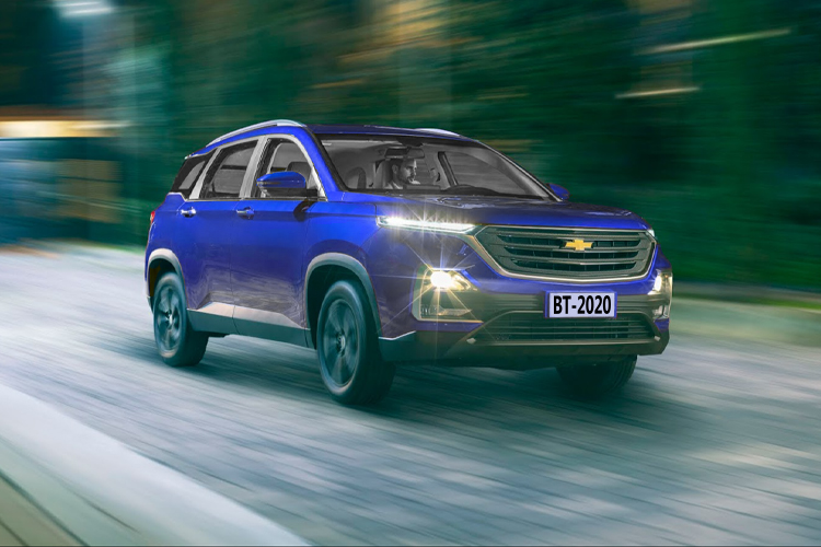 Chevrolet Captiva 2022 diseño