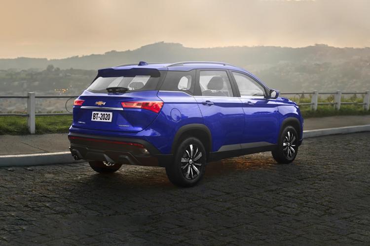 Chevrolet Captiva 2022 equipamiento