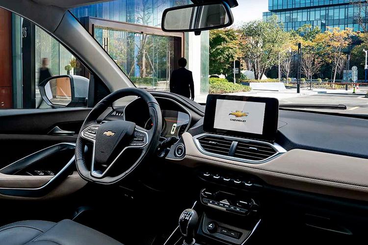 Chevrolet Captiva 2022 sistema de infoentretenimiento