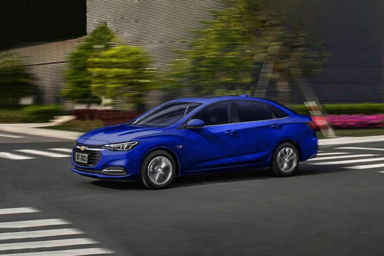 Chevrolet Cavalier 2021 diseño México equipamiento motor potencia autos disponibilidad