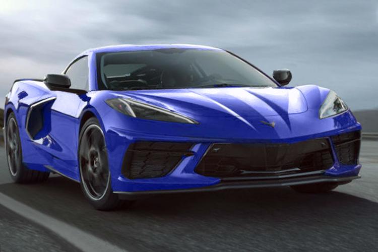 Chevrolet Corvette 2020 vehiculo lanzamiento