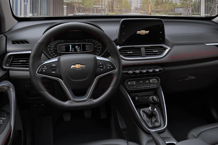 Chevrolet Groove 2022 llegará a México este año sistema de infoentretenimiento