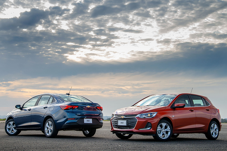 Chevrolet Onix 2020 versiones