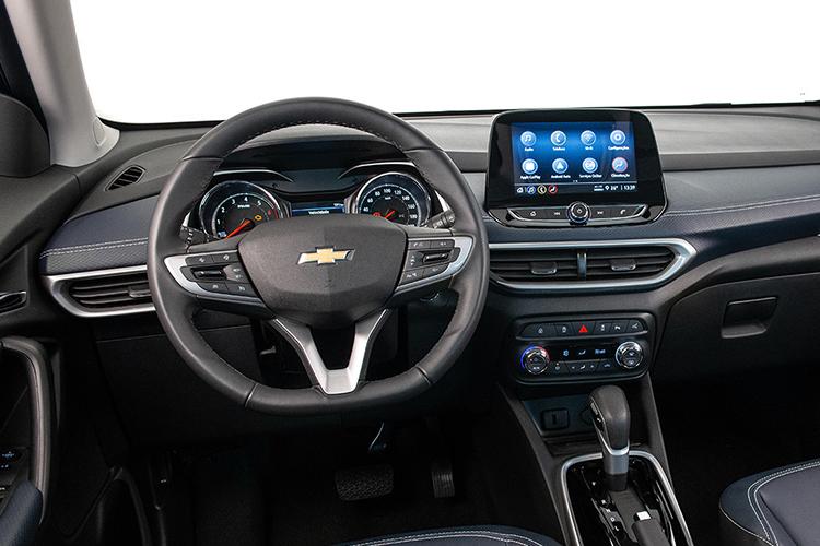 Chevrolet Tracker 2021 llega a México sistema de infoentretenimiento