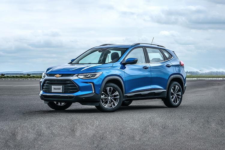 Chevrolet Tracker 2021 llega a México tecnología