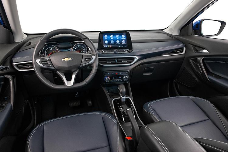 Chevrolet Tracker 2021 sistema de infoentretenimiento