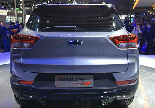 Chevrolet Trailblazer 2021 parte trasera