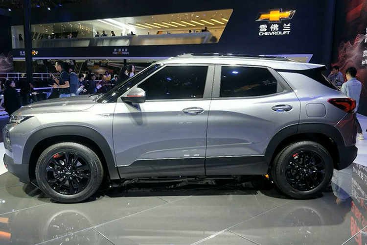 Chevrolet Trailblazer 2021 presentacion en Auto Show de Shanghai 2019