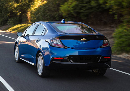 Chevrolet Volt vehículo que no veremos en México 2020 vehiculo totalmente eléctrico