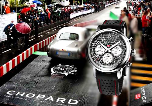Chopard Mille Miglia 2018 30 años como socio y cronometrador oficial de la corsa piú bella del mondo