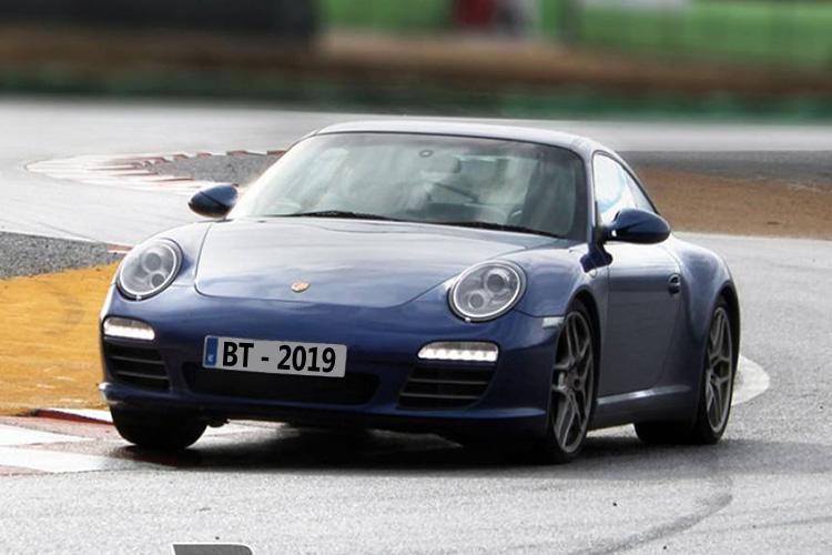 Circuito de pruebas Nardò Porsche repavimentado