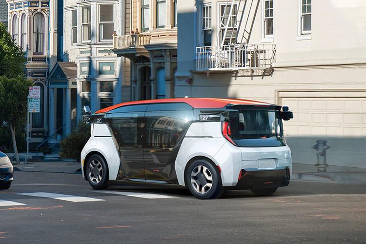 Cruise Origin vehiculos autonomos tecnología