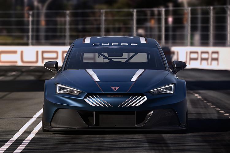 Cupra León e-Race diseño