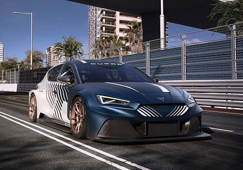 Cupra León e-race totalmente eléctrico