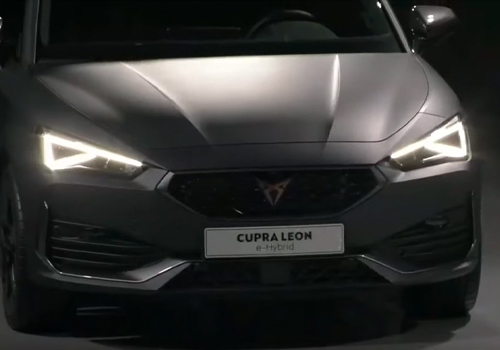 Cupra León eHybrid faros