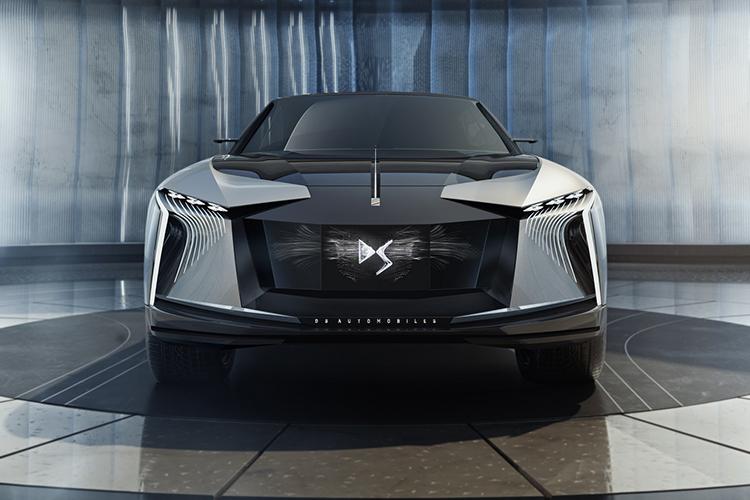 DS Aero Sport Lounge concept car autonomía