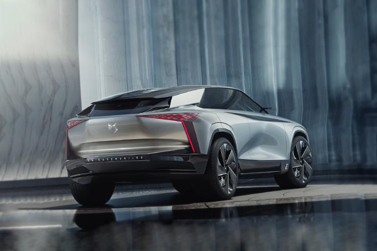 DS Aero Sport Lounge concept car tecnología