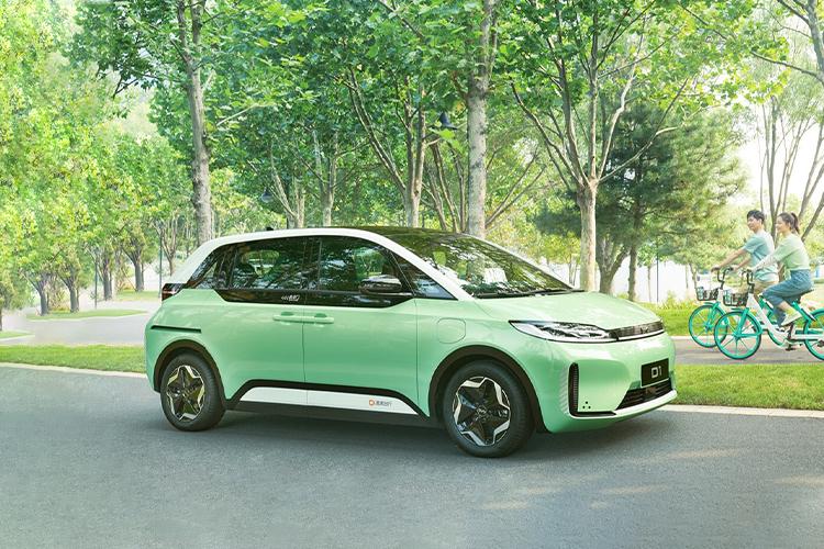 DiDi y BYD desarrollan nuevo auto totalmente eléctrico equipamiento