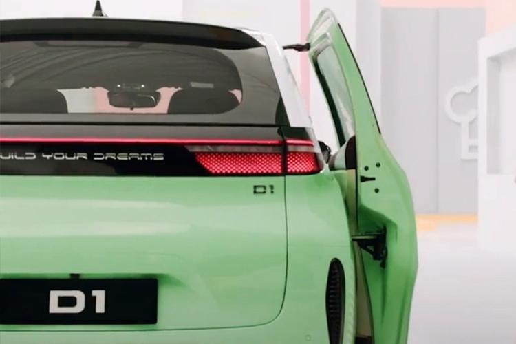 DiDi y BYD desarrollan nuevo auto totalmente eléctrico puertas corredizas