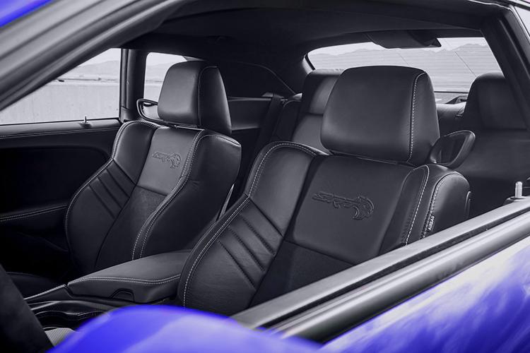 Dodge Challenger SRT Super Stock interior