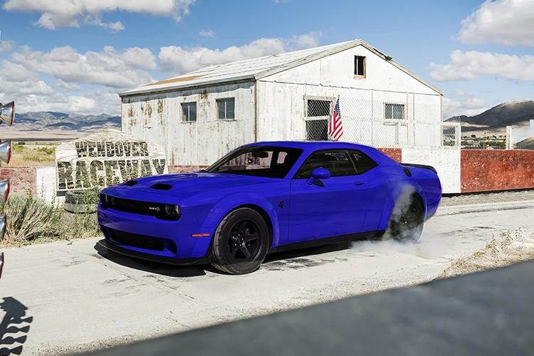 Dodge Challenger SRT Super Stock muscle car