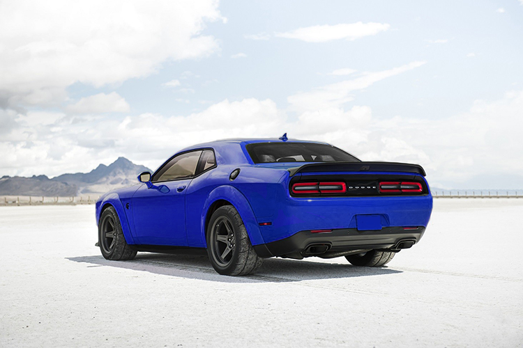 Dodge Challenger SRT Super Stock potencia