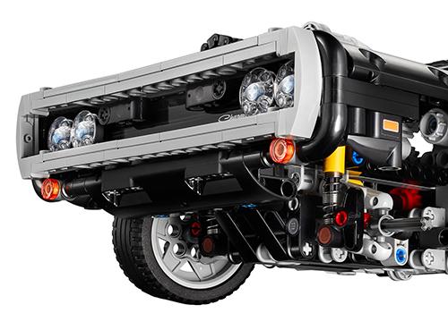 modelos LEGO detalles Dodge Charger R/T