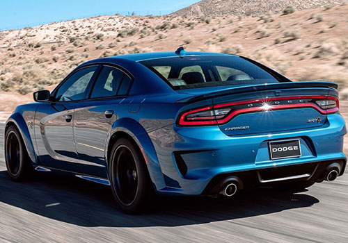 Dodge Charger SRT Hellcat Widebody muscle car