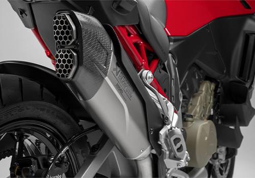 Ducati Multistrada V4 2021 motocicleta diseño y tecnología