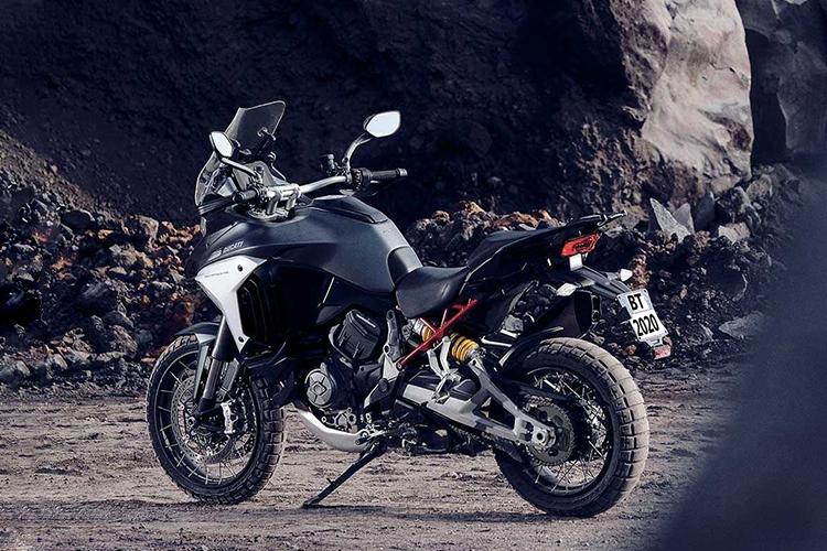 Ducati Multistrada V4 2021 motocicleta rendimiento