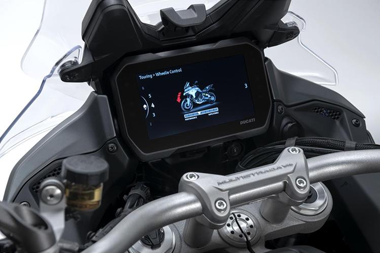 Ducati Multistrada V4 2021 motocicleta tecnología