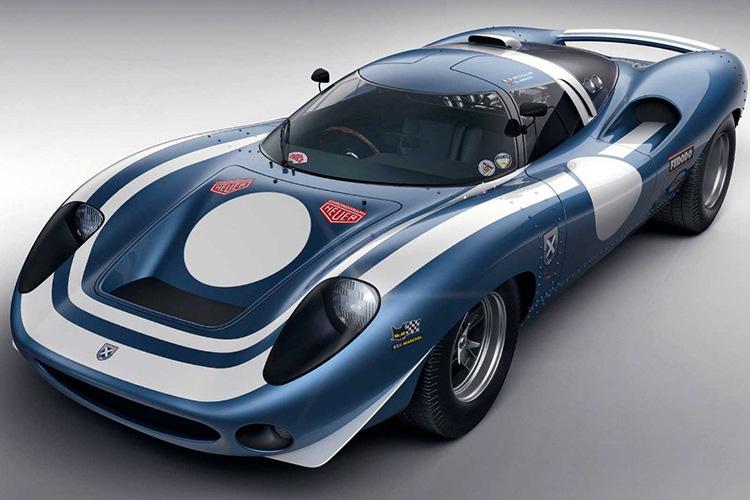Ecurie Ecosse LM69 motor v12 central
