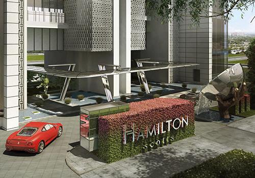 Edificios de lujo con elevador para auto_Hamilton Scott Singapur