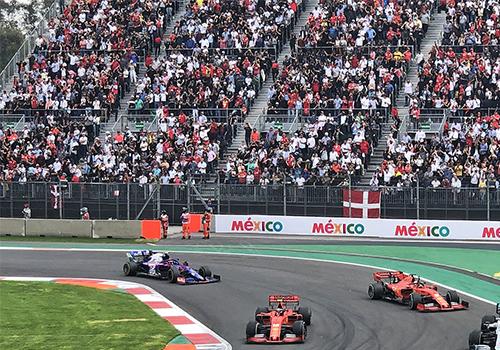 El Autódromo Hermanos Rodríguez Fórmula 1