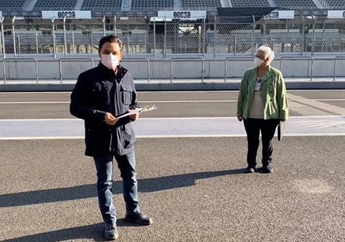 El Autódromo Hermanos Rodríguez coches competición
