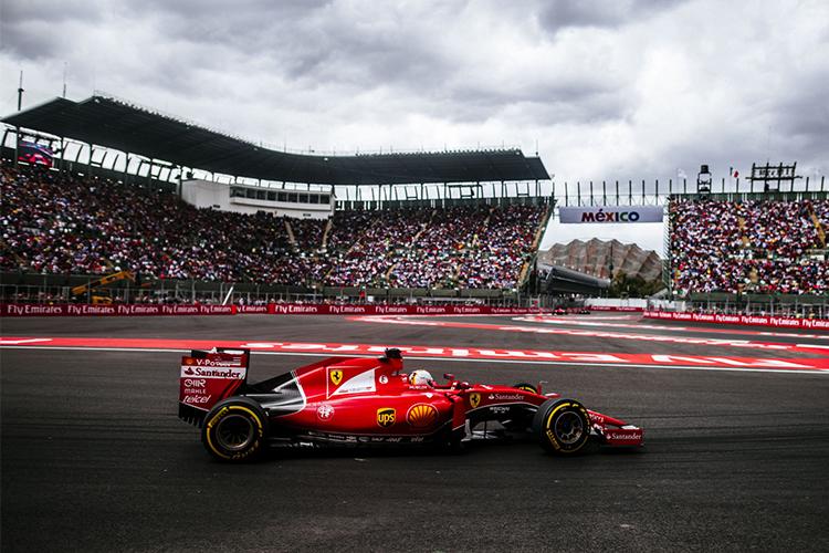 El Autódromo Hermanos Rodríguez pista carreras