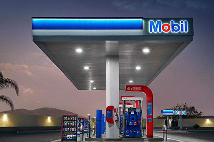 Exxon Mobil estaciones de servicio, lubricantes