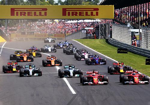 vehiculos FIA y F1