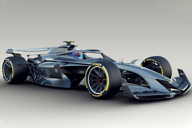 Fórmula 1 prototipo nuevo piso
