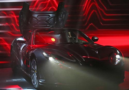 debut oficial en Auto Show de Frankfurt
