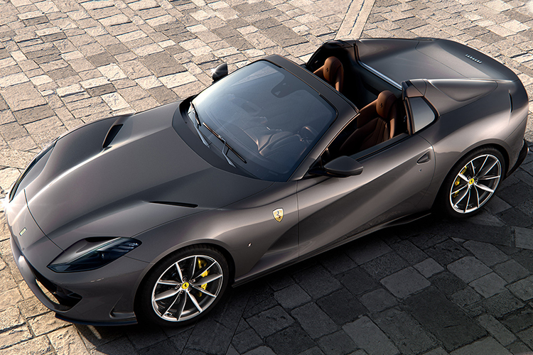 Ferrari 812 GTS descapotable 790 hp
