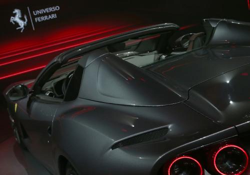 Ferrari 812 GTS peso de 1,600 kilogramos