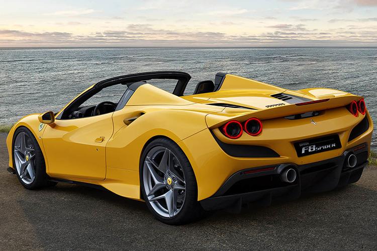 Ferrari F8 Spider 710 hp