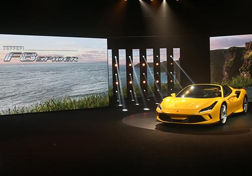 Ferrari F8 Spider innovaciones y tecnologia