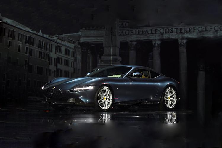 Ferrari Roma_Auto Show de Ginebra