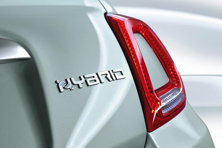Fiat 500 Hybrid 12 voltios