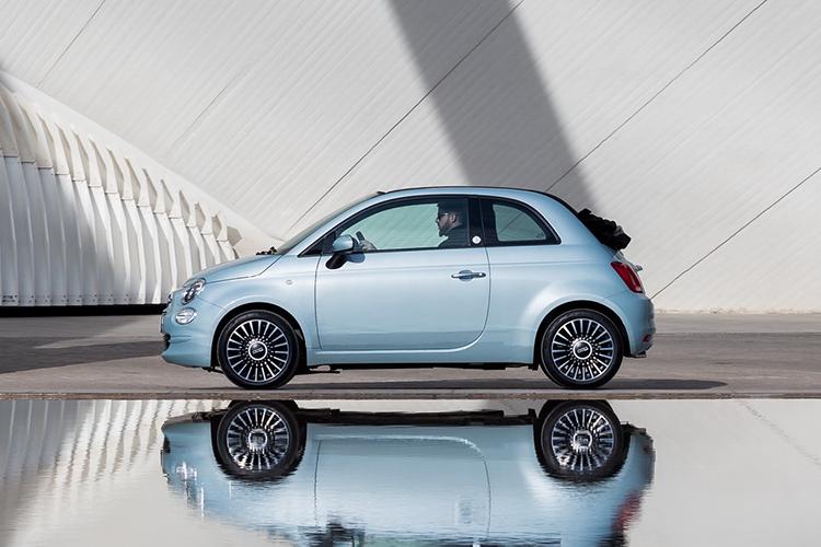 Fiat 500 Hybrid vehículos híbridos carrocería