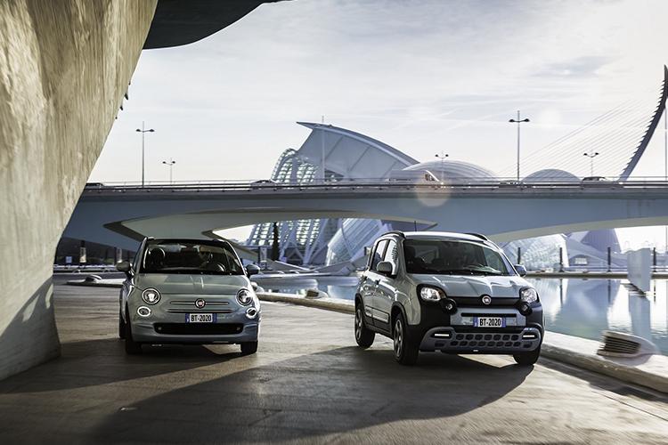 Fiat 500 Hybrid y Fiat Panda vehículos