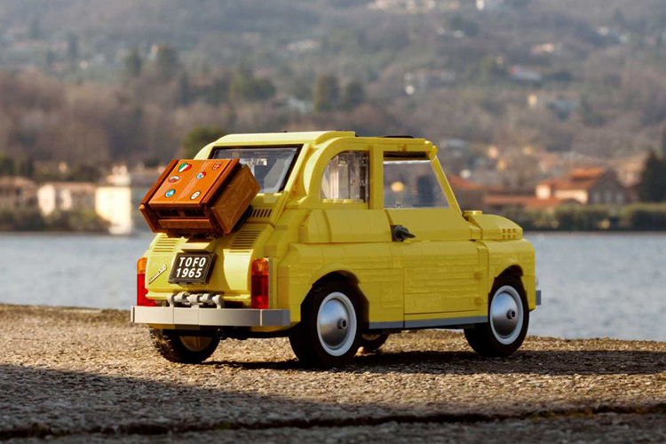 Fiat 500 Lego Creator Expert réplica diseños clásicos